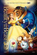 Beauty and the Beast 3D Poster Artwork