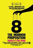 8: The Mormon Proposition Poster Artwork