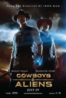 Cowboys & Aliens Poster Artwork
