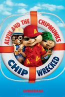 Alvin and the Chipmunks: Chipwrecked Poster Artwork