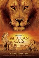 African Cats Poster Artwork