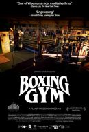 Boxing Gym Poster Artwork