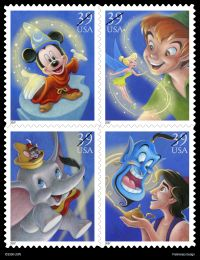 Disney Magic Stamps