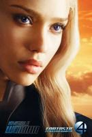 Jessica Alba in a poster from Fantastic Four: Rise of the Silver Surfer