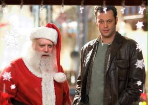 Paul Giamatti and Vince Vaughn in Fred Claus