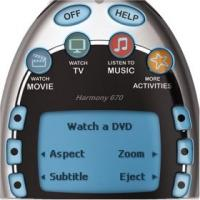 Harmony Remote Activity Buttons
