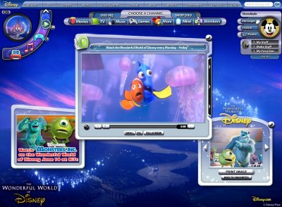 Screenshot of Disney.com