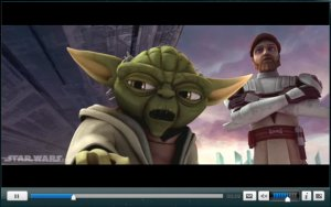 The trailer for Star Wars: The Clone Wars is now available