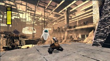 WALL-E Video Game Screenshot
