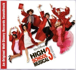 High School Musical 3 Soundtrack CD Cover