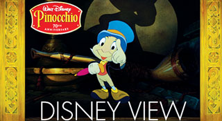 Disney View on the Pinocchio Blu-ray Disc