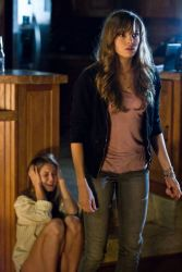 (L-R) Bree (JULIANNA GUILL) starts freaking out as Jenna (DANIELLE PANABAKER) tries to makes sense of what is happening.