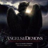 Angels & Demons Soundtrack CD Cover Art