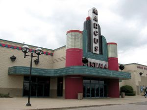 Photo of Marcus Menomonee Falls Cinemas. Photo Copyright 2009 SVJ Designs, LLC. All Rights Reserved.