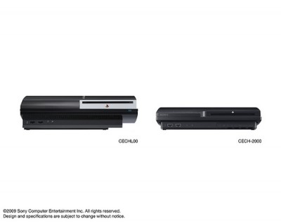 Comparison of the two PS3's