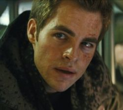 Chris Pine as James T. Kirk in Star Trek. Copyright © 2008 Paramount Pictures.