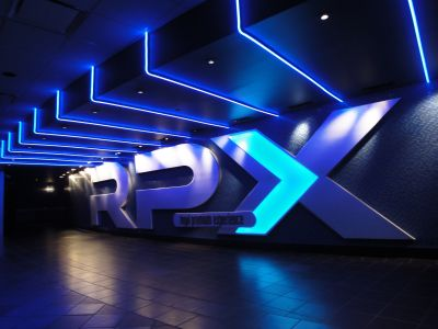 Regal E-Walk Stadium 13 in Times Square was the first location for RPX: Regal Premium Experience. (Graphic: Regal Entertainment Group)
