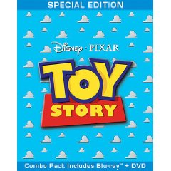 Toy Story Blu-ray/DVD Combo Cover Art