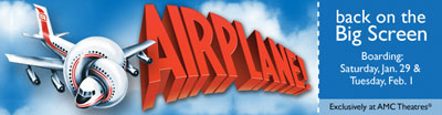 Airplane Promo Graphic