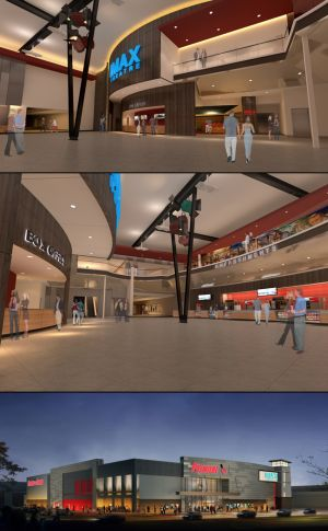 Renderings of the new theater