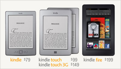 The New Amazon Kindles and Amazon Fire