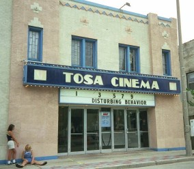 The Tosa Cinema in 1998. Photo copyright © 1998, SVJ Designs, LLC. All Rights Reserved.