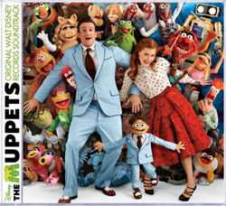 Muppets Soundtrack Cover Art