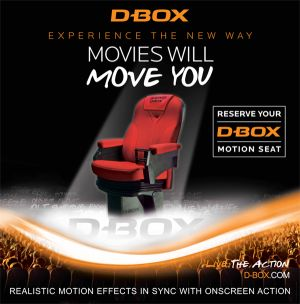 D-Box Seating Graphic