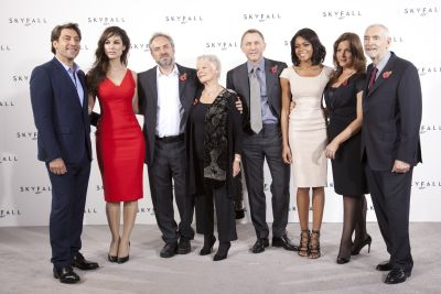 Photo of cast of Skyfall