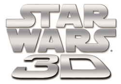 Star Wars 3D logo