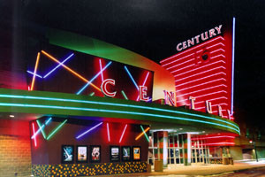 Before the renovation - ©2012 Cinemark USA, Inc.