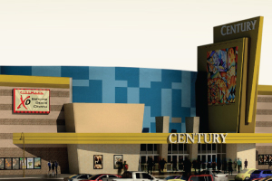 Rendering of the redesigned theater - ©2012 Cinemark USA, Inc.