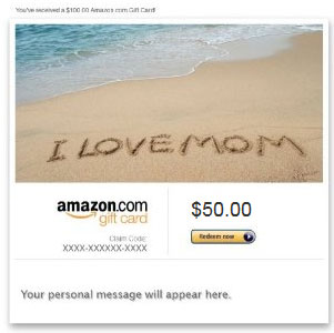 Amazon Gift Card Sample