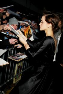 Emma Watson at NYC Premiere of Noah - 3/26/2014 - StarPix ©2014