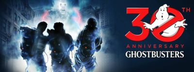 Ghostbusters 30th Anniversary Graphic