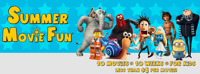 Harkins Theatres Summer Movie Fun logo