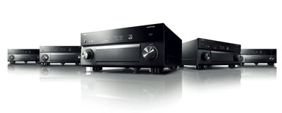 Yamaha family of receivers