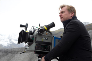 Director Christopher Nolan. ©2014 Warner Bros. Entertainment, Inc. and Paramount Pictures Corporation. All Rights Reserved.