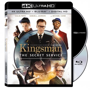 Kingsman: The Secret Service UltraHD Cover Artwork