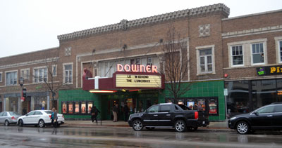 Landmark Downer Theatre in Milwaukee, Wisconsin. Photo Copyright 2014 SVJ Designs, LLC. All Rights Reserved.