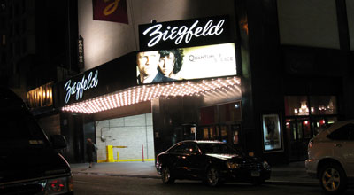 Ziegfeld Theater. Copyright © 2016, SVJ Designs LLC. All Rights Reserved.