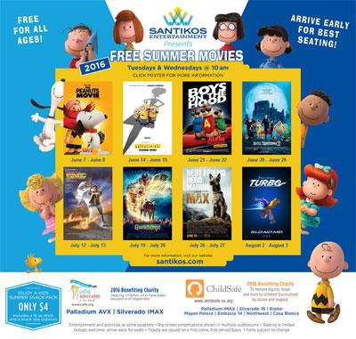 Free Summer Movies at Santikos Theatres - The BigScreen ...