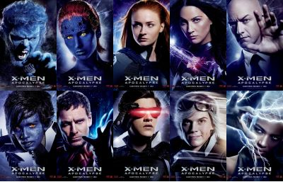 check out the new character posters for quotxmen apocalypse