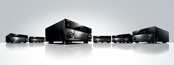 Yamaha RX-A Series of AV Receivers