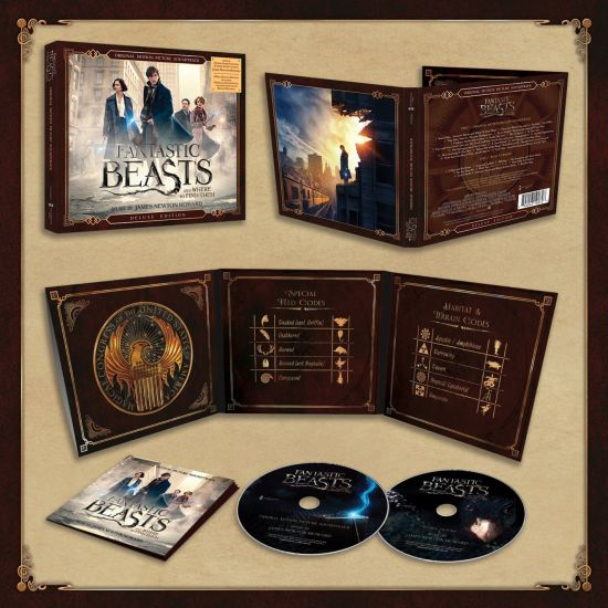 Fantastic Beasts And Where To Find Them: Original Motion Picture Soundtrack [2 CD Deluxe Edition]