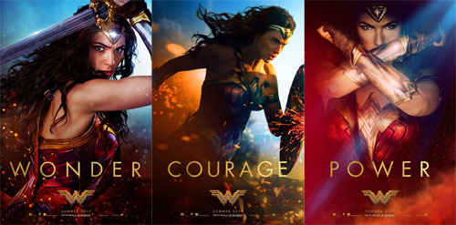 Posters The New Trailer For Wonder Woman