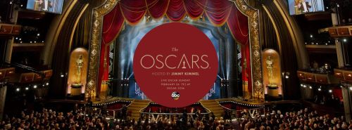 Oscars promotional graphic