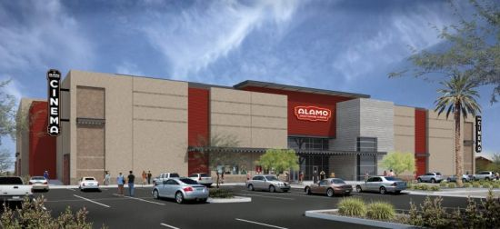Theater rendering by Alamo Drafthouse Cinema