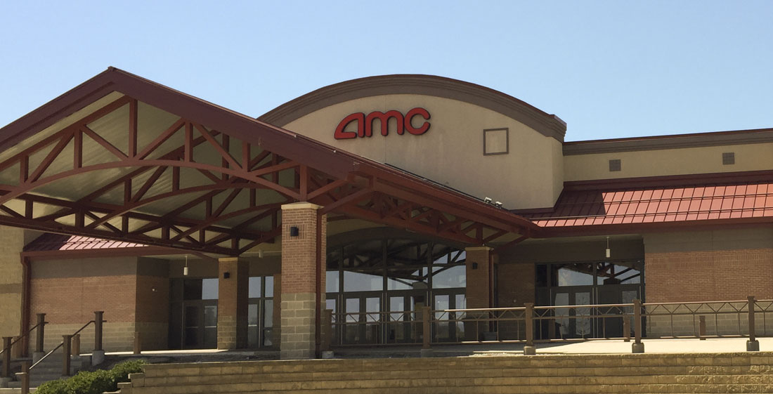 Photo of AMC movie theater. Copyright © 2018, SVJ Designs, LLC. All rights reserved.