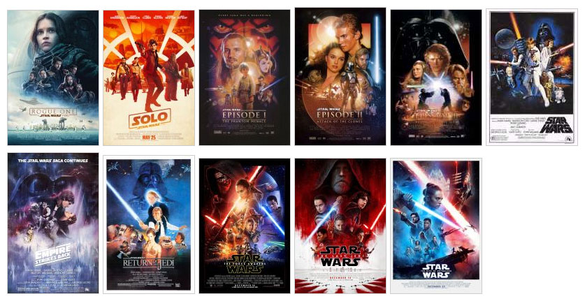 Movie Poster Array